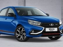 LADA Vesta Sport received two new colors