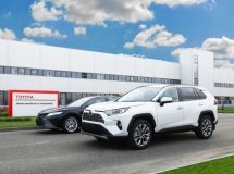 St. Petersburg Toyota plant starts the export of cars to Armenia
