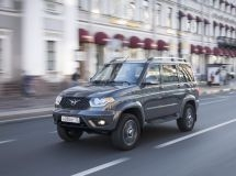 UAZ entered the TOP-10 of brands of the Russian car market in April
