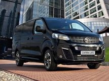 Minibus Opel Zafira Life received a special version in Russia