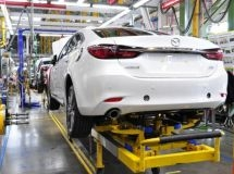 Mazda Sollers plant in Vladivostok resumed the operation