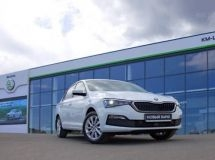 The 200 000th Skoda Rapid car was produced in Russia