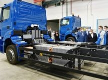 KAMAZ introduced the first cargo electric vehicle