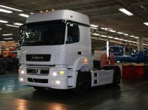 KAMAZ canceled the part-time work in July