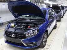 LADA Izhevsk plant reduced the production of cars 1.6 times in January - May