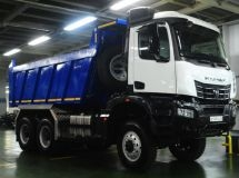 KAMAZ began the trial assembly of the newest dump truck