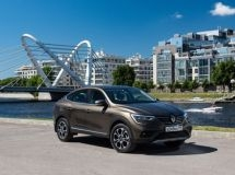 Renault Arkana entered the TOP-25 of Russian bestsellers in June