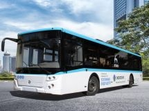 GAZ Group developed a bus running on liquefied natural gas