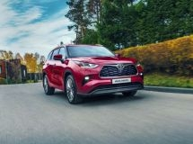 New Toyota Highlander is launched in the Russian market