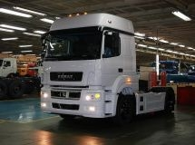 KAMAZ resumed the work after summer vacation