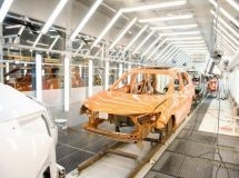 Nissan plant has improved the technology of car painting in St. Petersburg