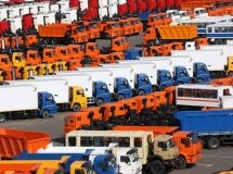 There are about 8.5 million commercial vehicles in Russia