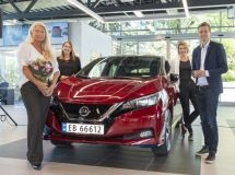 Nissan launches 500,000th Leaf electric car