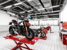New Ducati showroom was opened in Moscow
