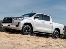 Toyota Hilux became the most popular pickup truck in Russia in August