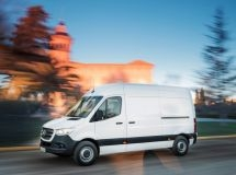 More than 350 Mercedes-Benz Sprinter cars were recalled in Russia