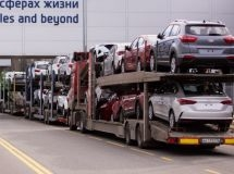 Export of passenger cars fell by 45% in January-August