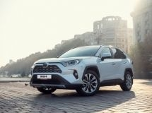 Toyota RAV4 became the brand's bestseller in Russia in September
