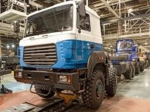Truck production remained at the last year's level in September