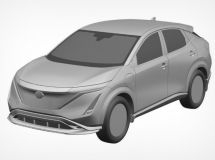 Nissan patented a new electric crossover Ariya in Russia