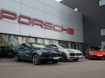 Porsche launches a car rental service in Russia