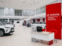 New Toyota dealership was opened in Kazakhstan