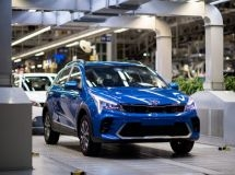 The production of KIA Rio X cross-hatchback began in Russia