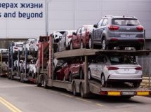 Export of passenger cars fell by 46% for 9 months
