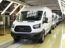 The 90,000th Ford Transit was released in Russia
