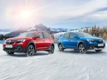 Renault presented the updated Logan and Sandero in Russia