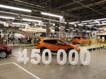 Nissan plant produced the 450,000th car in St. Petersburg