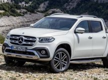 Mercedes-Benz has completed sales of X-class pickups in Russia