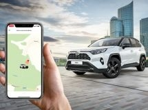 Toyota cars were connected to telematics ecosystem in Russia