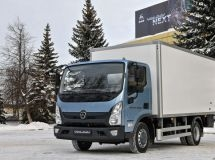 GAZ started the sales of a new medium-duty truck