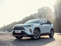 Toyota RAV4 became the bestseller of the brand in Russia in January