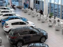 Russians spent 171 billion rubles for new cars in January