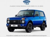 LADA 4x4 sales were resumed in Great Britain
