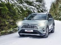 Toyota RAV4 became the bestseller of the brand in Russia in February