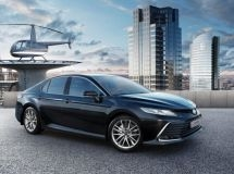 Updated Toyota Camry is available for order in Russia