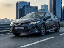 Production of the updated Toyota Camry sedan began in Russia