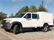 UAZ presented a multifunctional van based on «Profi»