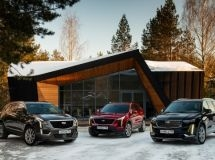 Cadillac set a record for sales in Russia in Q1
