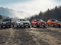 Mitsubishi named the best-selling models in Russia for the 1st quarter