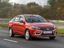 The updated LADA Vesta will enter the assembly line no earlier than 2022