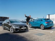 New Audi A3 Sedan and A3 Sportback of Young & Drive special edition are available in Russia