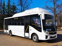 GAZ Group starts the production of gas buses Vector Next 8.8