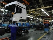 KAMAZ increases the pace of car assembly