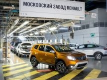 Moscow Renault plant increased the production by one third in Q1