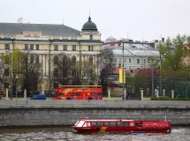 There will be 10 double-decker buses on routes of Moscow since April